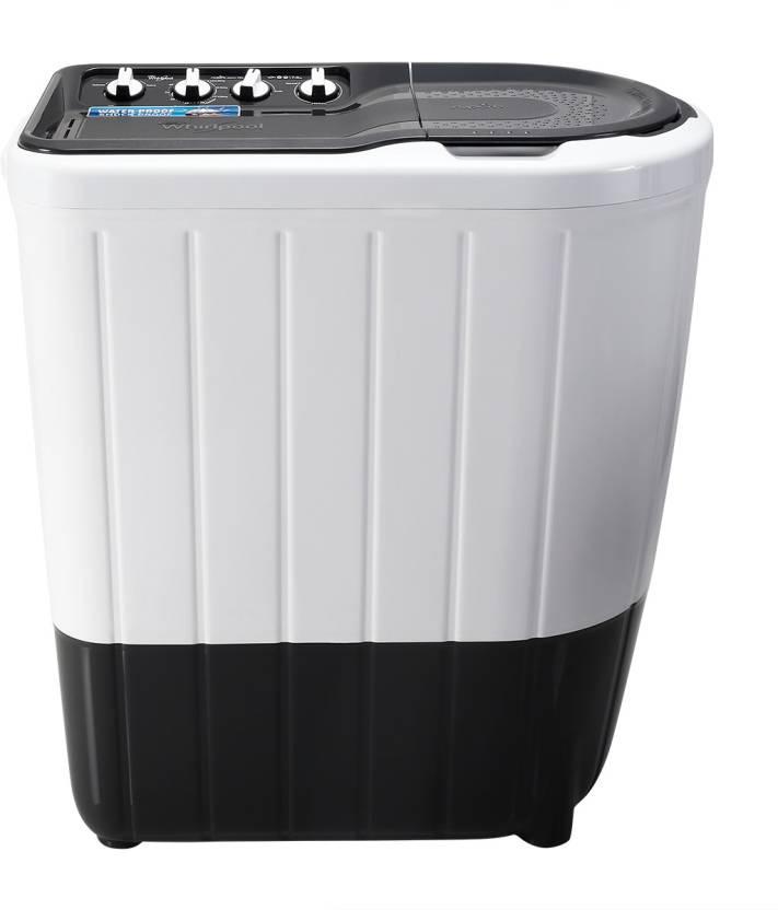Whirlpool 7 kg Semi Automatic Top Load Washing Machine Grey