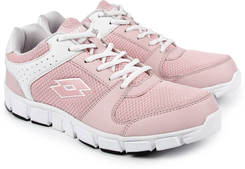 2e8ac573a70ba5 Lotto Running Shoes For Women - Buy White  Nude pink Color Lotto ...