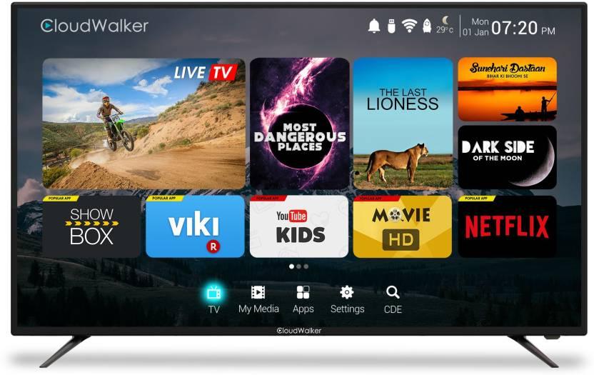CloudWalker Cloud TV 165cm (65) Ultra HD (4K) Smart LED TV