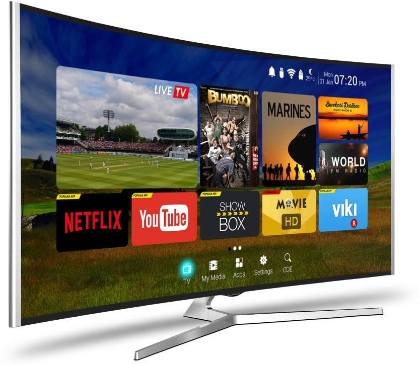 CloudWalker Cloud TV 165cm (65) Ultra HD (4K) Smart, Curved LED TV