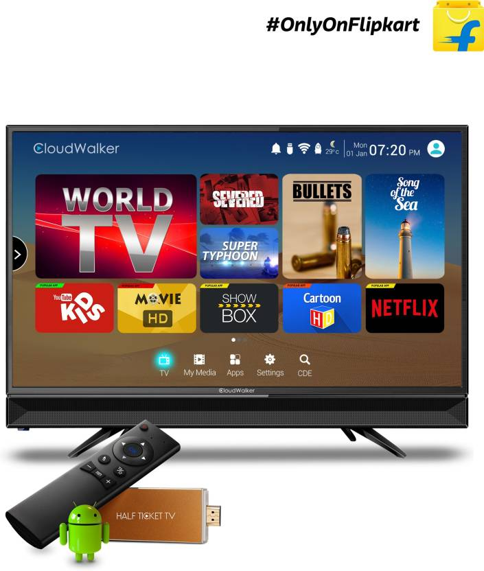 CloudWalker Cloud TV 60cm (23.6) HD Ready LED TV