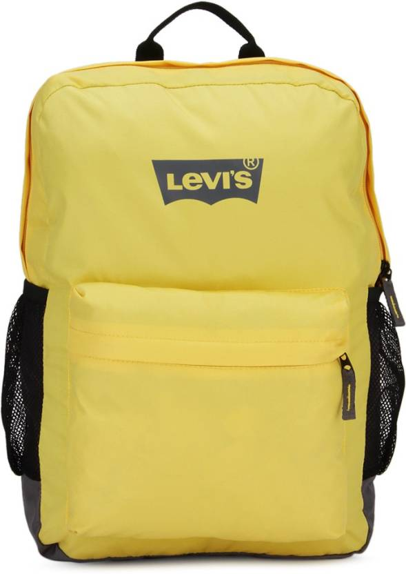 6b6d6e0501 Levi s Two tone back pack 2.8 L Backpack Yellow + Grey - Price in ...