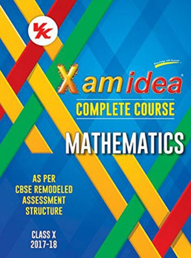 Xam idea simplified mathematics term-2 class 10 old edition.