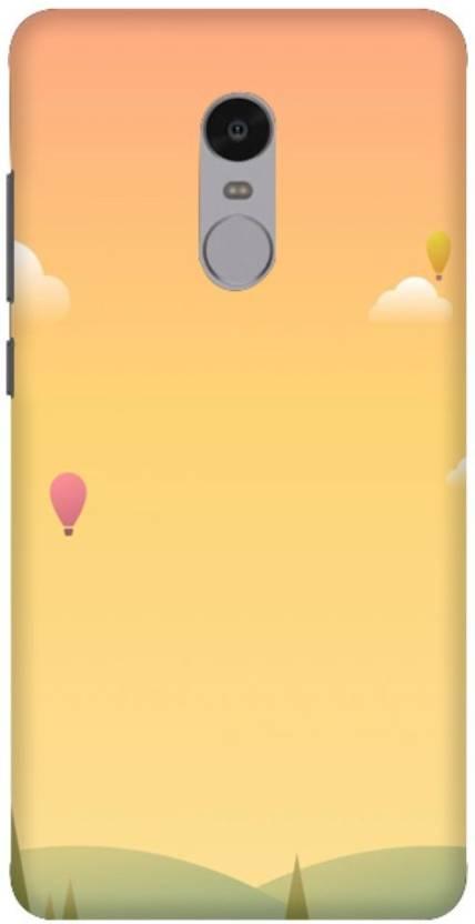 new product 573b5 7412e Wizzart Back Cover for Simple Print Design Mi Xiaomi Redmi Note 4 ...