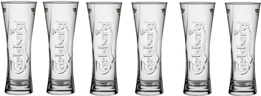 carlsberg 300ml club beer bar wine glasses premium big glass glass