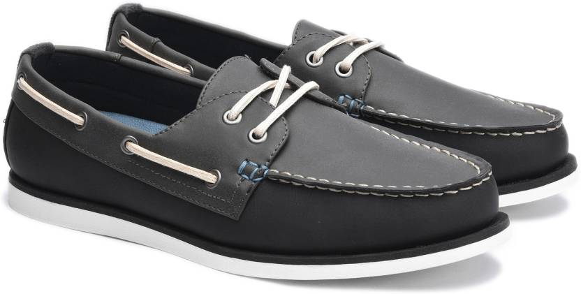 761505a75 Call It Spring Boat Shoes For Men - Buy Black Synthetic Color Call ...