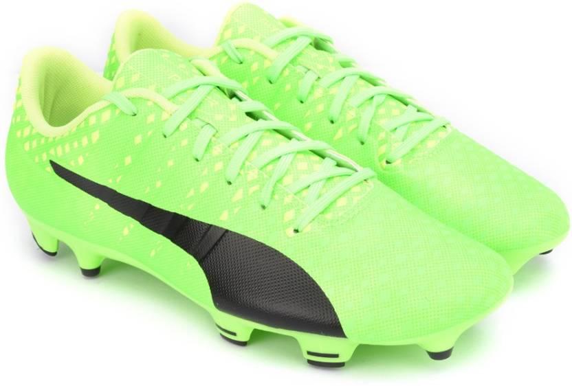 79e5bc717 Puma evoPOWER Vigor 3 FG Football Shoes For Men - Buy Green Gecko ...