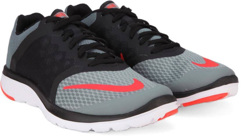 74fe16d696f Nike FS LITE RUN 3 Running Shoes For Men - Buy Grey Black White ...