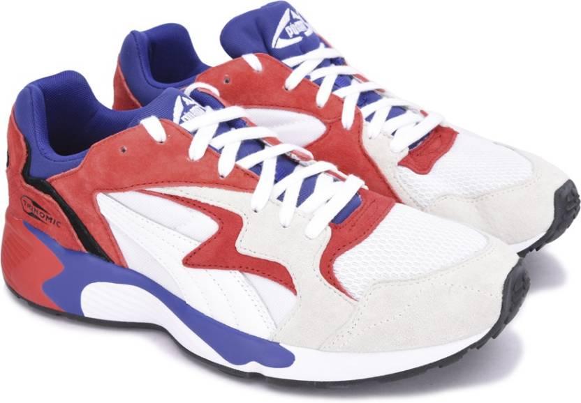 cede2ae9a3f6cd Puma Prevail Streetblock Sneakers For Men - Buy Puma White-High Risk ...