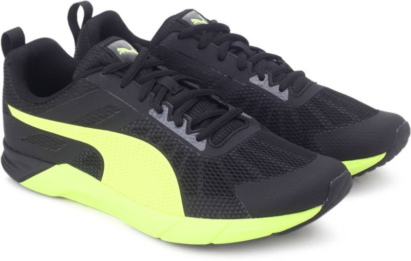 Puma Propel Running Shoes For Men - Buy Puma Black-Safety Yellow ... 231be1ce6
