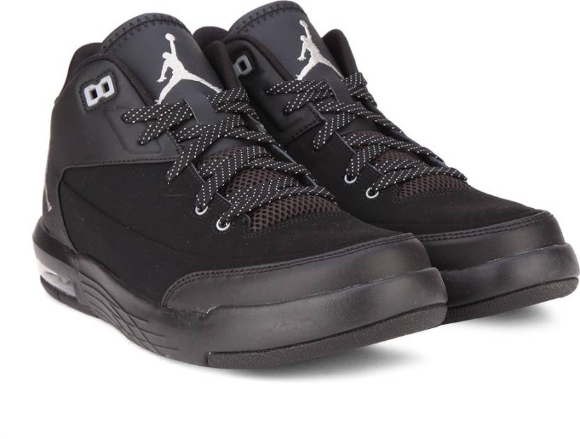 e04993a7f88 Nike JORDAN FLIGHT ORIGIN 3 Basketball Shoes For Men (Black, Silver)