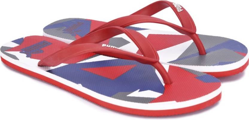 f334a7dc2 Puma Sam 2 IDP Flip Flops - Buy Barbados Cherry-BLUE DANUBE-Puma White  Color Puma Sam 2 IDP Flip Flops Online at Best Price - Shop Online for  Footwears in ...