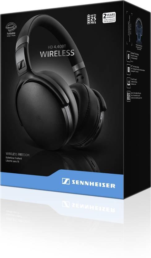 Sennheiser HD 4.40BT Bluetooth Headset with Mic Black, Over the Ear  Sennheiser Headphones