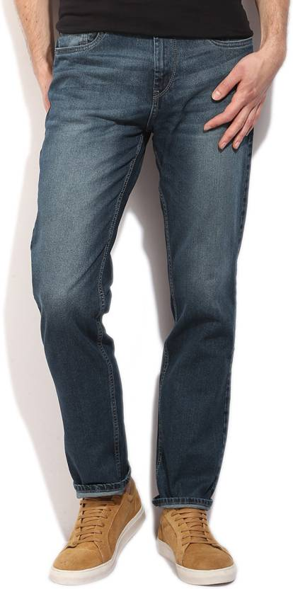 1ba681deb19a Flying Machine Regular Men s Blue Jeans - Buy WASHED DENIM Flying Machine  Regular Men s Blue Jeans Online at Best Prices in India