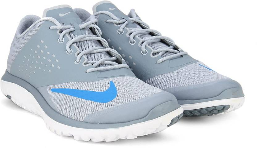 pretty nice 85a81 e095b Nike FS LITE RUN 2 Running Shoes For Men - Buy Grey / White / Blue ...