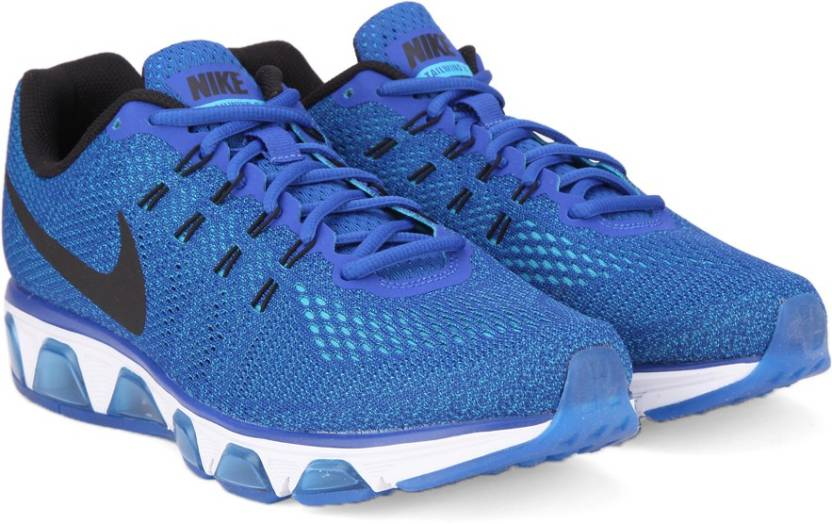 brand new 98269 fa4aa Nike AIR MAX TAILWIND 8 Running Shoes For Men (Blue, Black)