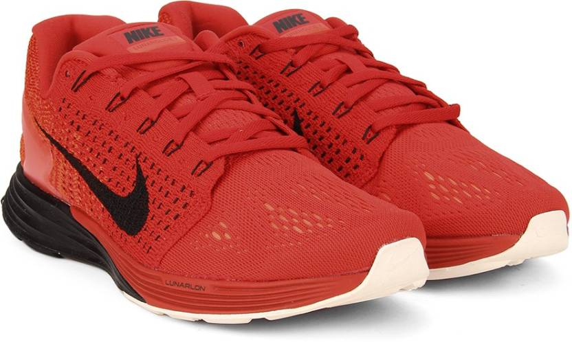 new styles 2a2aa 0dfb4 Nike LUNARGLIDE 7 Running Shoes For Men (Red)