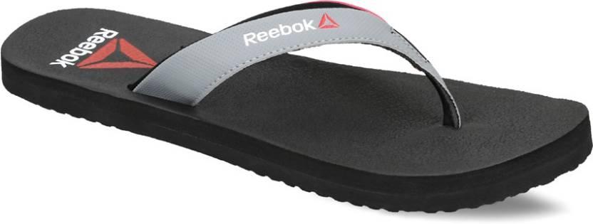 d86673aa819d REEBOK ADVENTURE FLIP Flip Flops - Buy BLK BLAZING PINK FLAT GRY ...