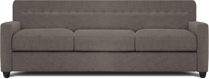 Dolphin Solitaire Fabric 3 Seater Sectional