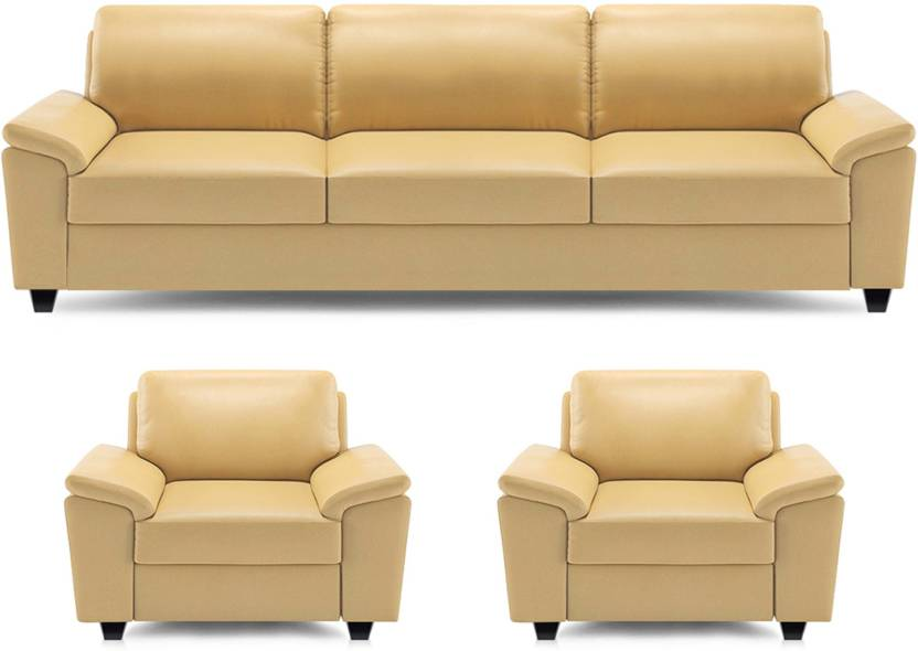 dolphin oxford leatherette 3 1 1 beige sofa set price in india buy dolphin oxford. Black Bedroom Furniture Sets. Home Design Ideas