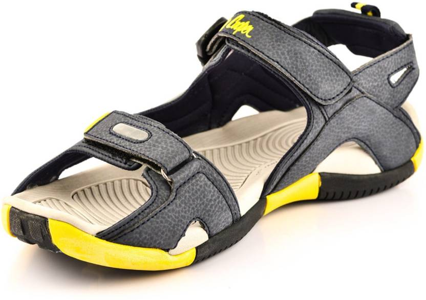 9bac5a792d634 Lee Cooper Men Blue-Yellow Sports Sandals - Buy Lee Cooper Men Blue-Yellow Sports  Sandals Online at Best Price - Shop Online for Footwears in India ...