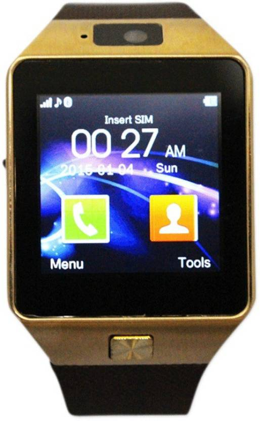 Jiyanshi DZ09 with SIM and 32 GB Memory Card Slot and Fitness Tracker Smartwatch