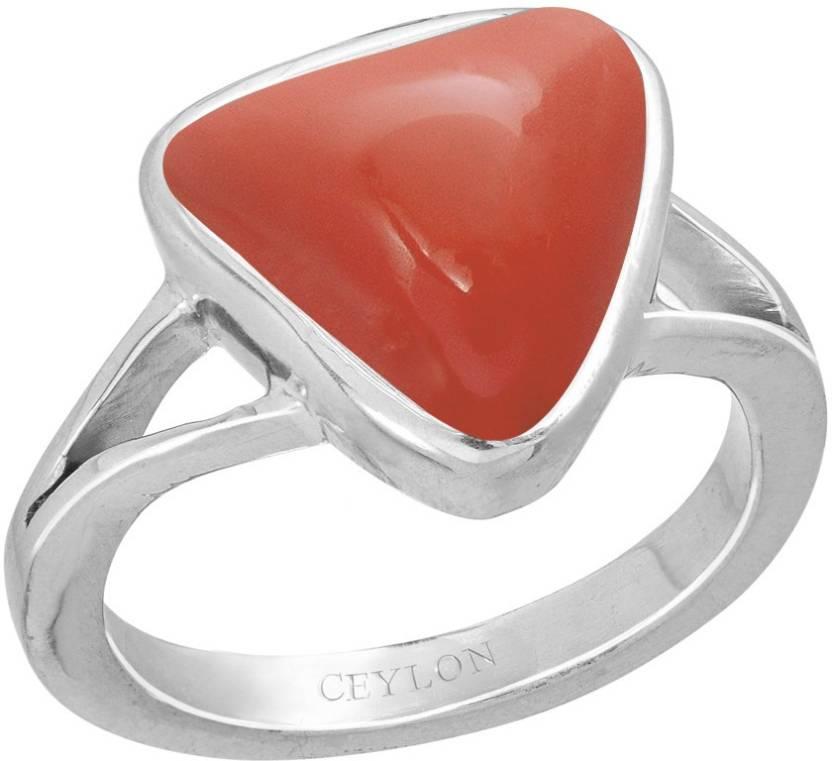 4212f2a671958 Ceylon Gems Trikona Coral Moonga 5.5cts or 6.25ratti stone Zoya ...