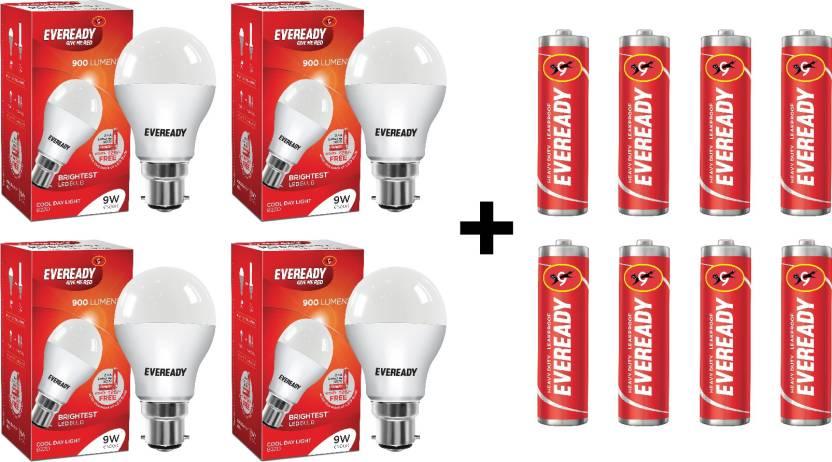 Eveready 9 W B22 LED Bulb