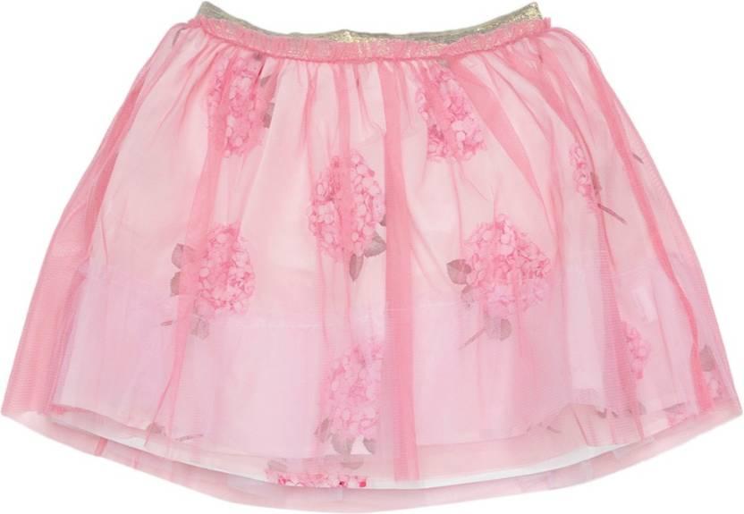 c848bb24b Allen Solly Junior Printed Girls A-line Pink Skirt - Buy Pink Allen Solly  Junior Printed Girls A-line Pink Skirt Online at Best Prices in India |  Flipkart. ...
