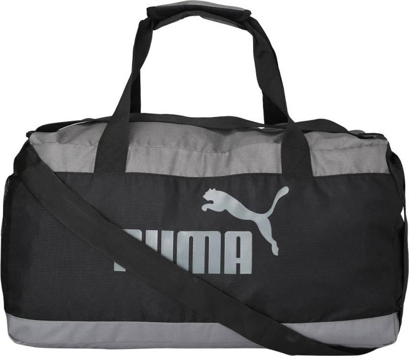 2101963fd201 Puma PUMA Box Bag Gym Bag Puma Black-Quiet Shade - Price in India ...