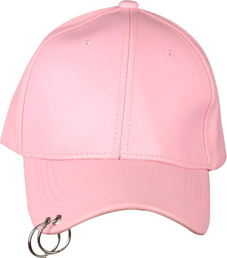 Merchanteshop Leather Women Pink Base Ball with Ring Cap - Buy  Merchanteshop Leather Women Pink Base Ball with Ring Cap Online at Best  Prices in India ... b229129d793