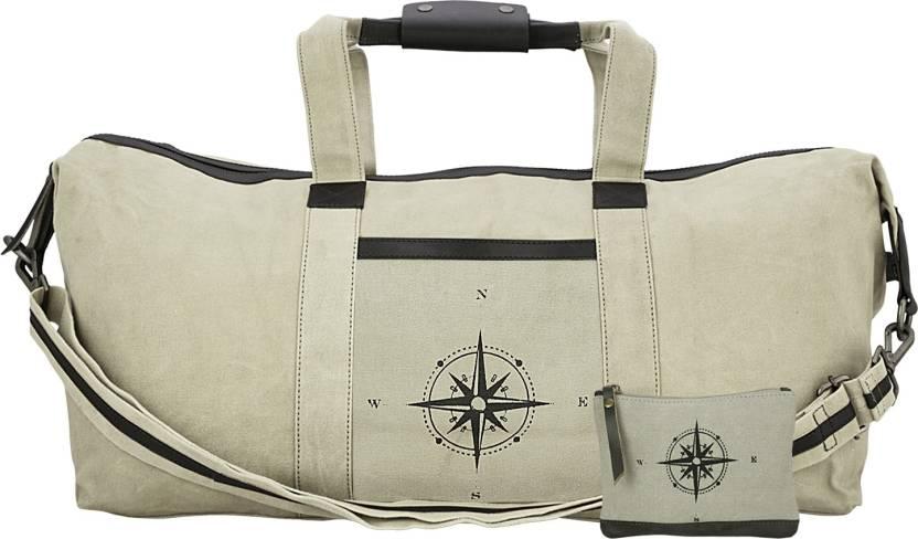 bf91741a83 Goyma Canvas Polyester 24 Inches Travel Duffle Bag Duffel Strolley