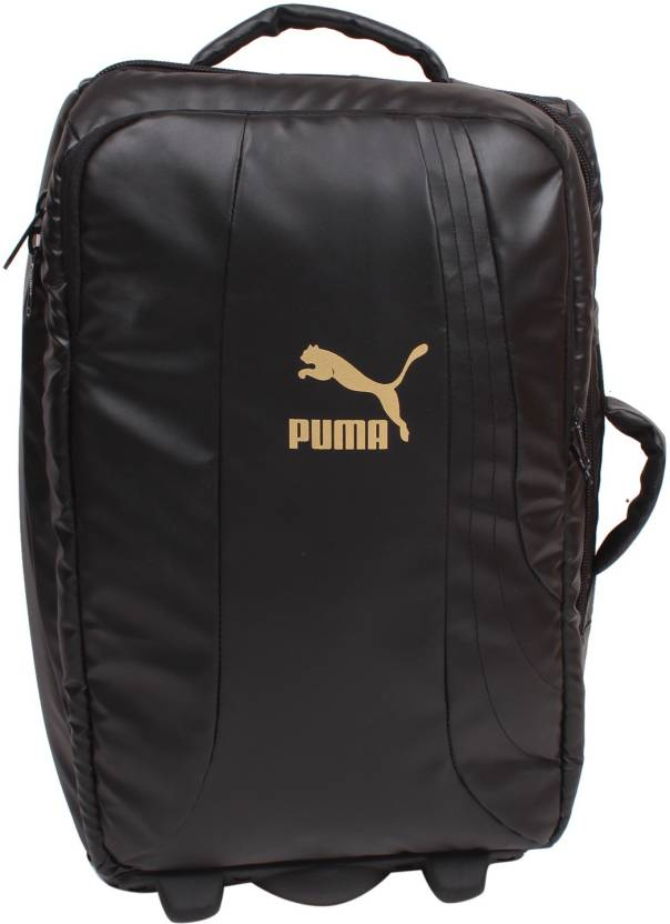5769d48d9654 Puma FundamentalTrolley Duffel Strolley Bag Black - Price in India ...