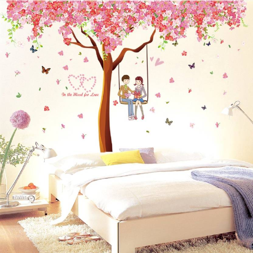 Oren Empower Pack Of 3 Cherry Blossom Extra Large Wall Stickers