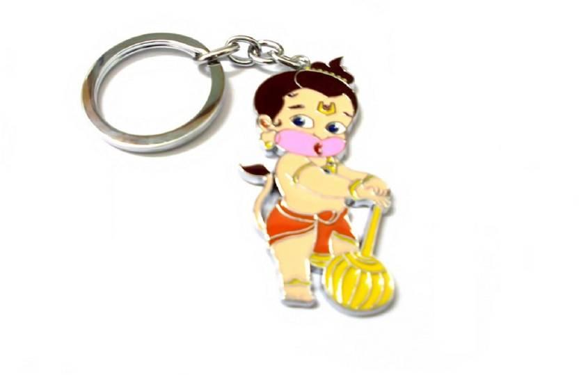 Niteo Bal Hanuman Bajarang Bali Cartoon Character Key Chain Price In
