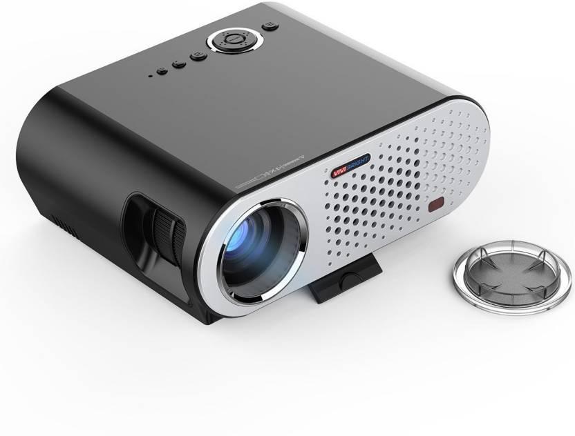 ViviBright GP90 3200 Lumens 1280*800 LED lamp LCD with HDMI/VGA/USB/AV 3200 lm LED Corded Portable Projector