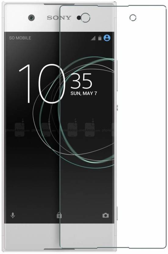 Colorcase Tempered Glass Guard for Sony Xperia XA1 Pack of 1
