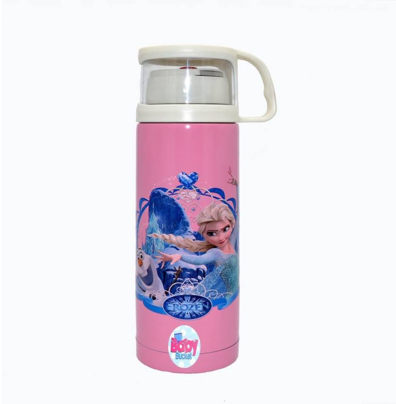 3d605eb07 Baby Bucket Stainless Steel Milk Thermos Flask Insulated Mug Portable Leak  proof - 500 ml (Pink)