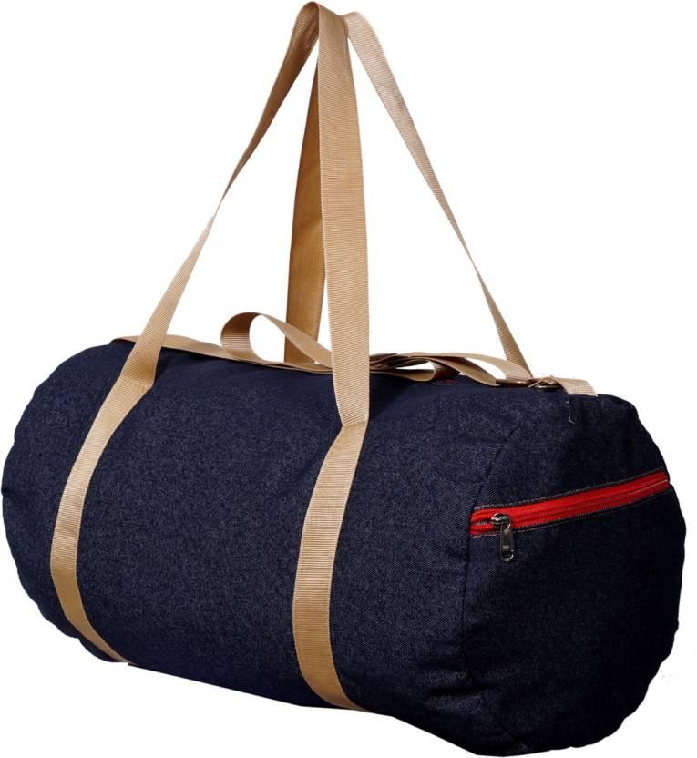 gag wears Denim Gym Bag - Buy gag wears Denim Gym Bag Online at Best ... 50a8585f99016