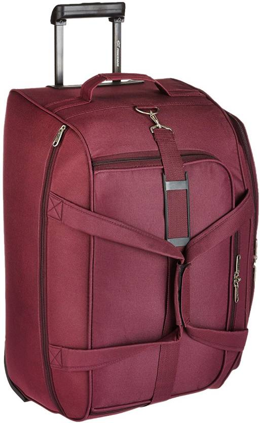 758674386bba Princeware Oslo Duffel Strolley Bag purple - Price in India ...