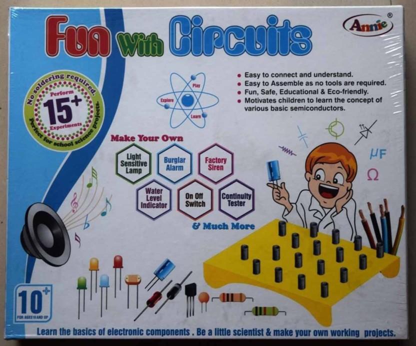 blue lotus annie fun with circuits price in india buy blue lotus rh flipkart com fun with electrical circuits fun circuits to build