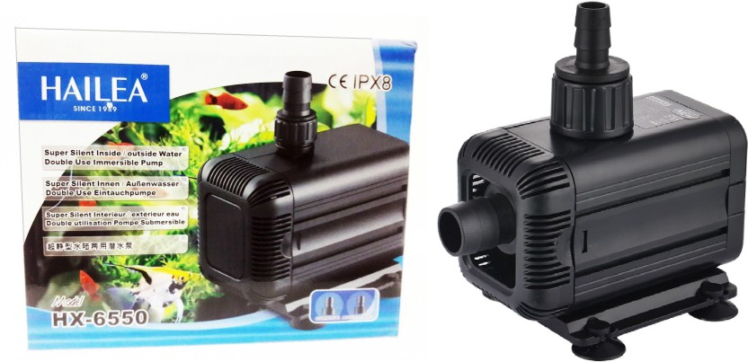 HAILEA HX 6550 Super Silent Inside/Outside Water Double Use Immersible Pump  | Power