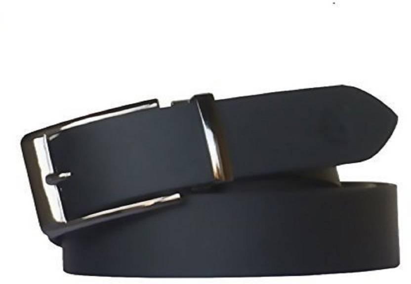 d70e5d3a14193 Kesari Men Casual, Formal Black Genuine Leather Belt Black - Price in India  | Flipkart.com