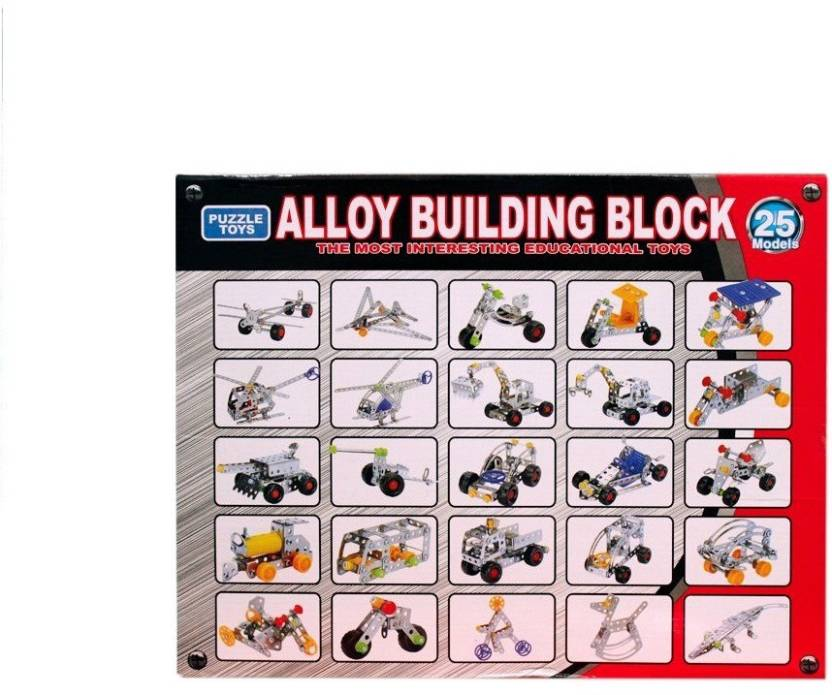 Wishkey Alloy Building Blocks Set with 25 models