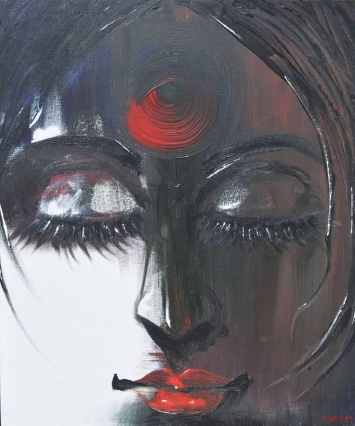 Masculine Manthan 36x30 Hd Wallpaper On Art Paper Fine Art