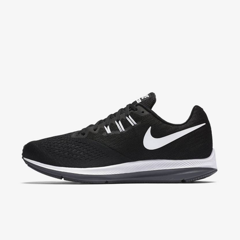 75b567118e85 Nike ZOOM WINFLO 4 Running Shoes For Men (Black). Price  Not Available