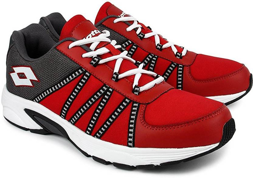 Lotto Redon Running Shoes For Men - Buy Red Grey Color Lotto Redon ... b97cab7b0