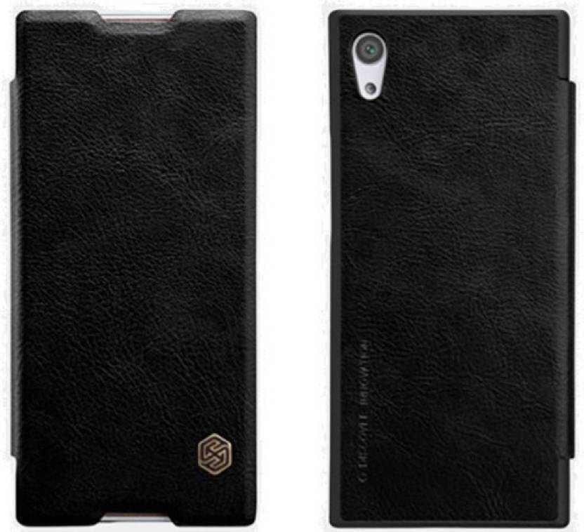 newest 266c5 45bd3 Nillkin Flip Cover for Sony Xperia XA1