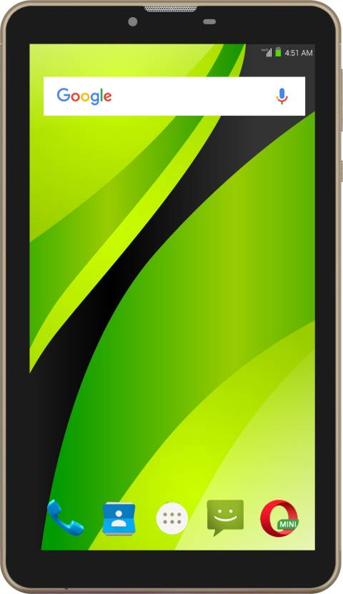 Swipe Strike 4G VoLTE 16  GB 7 inch with Wi Fi+4G Tablet  Gold