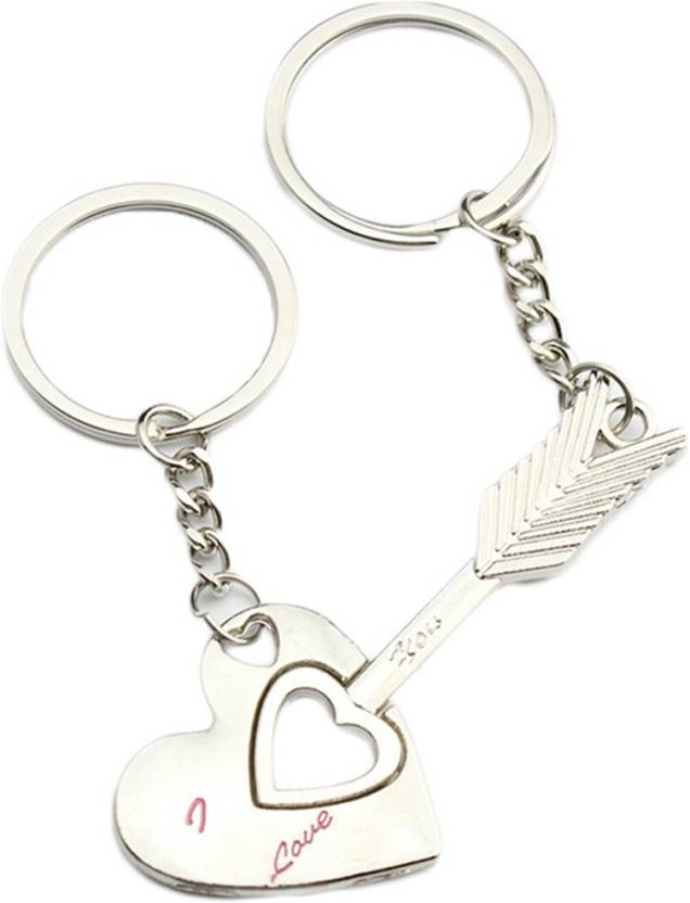 GELILIA Couple s Cupid Arrow   Heart For Lovers Key Chain Price in India -  Buy GELILIA Couple s Cupid Arrow   Heart For Lovers Key Chain online at  Flipkart. ... 896898b8b